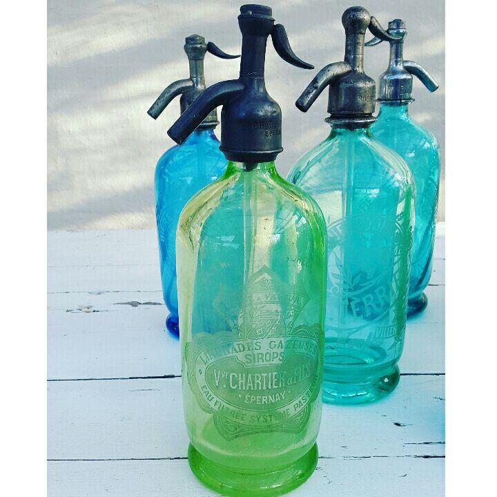 sifon flaske i glas