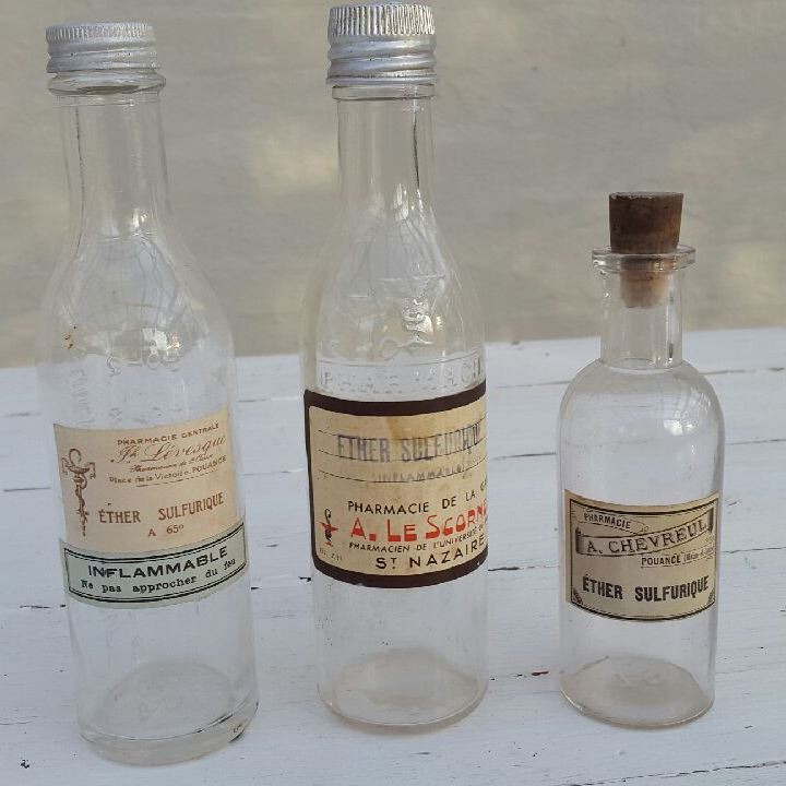 Franske apotekerflasker