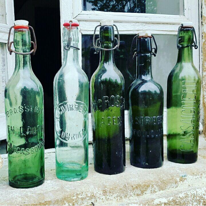 Franske patentflasker
