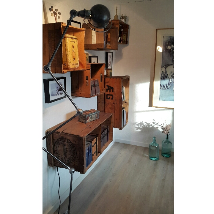 Vintage Jielde Lampe